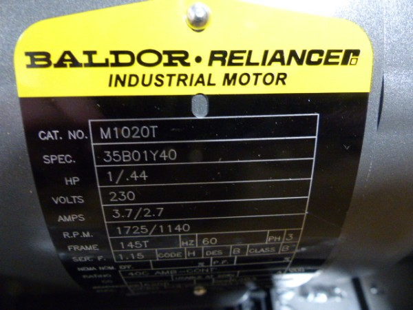Baldor motors calgary for Motor technology inc dayton ohio